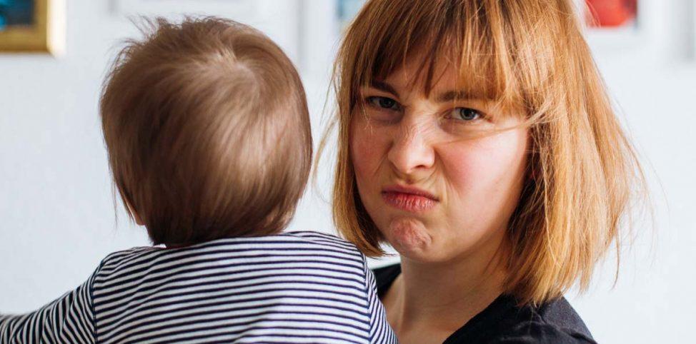 5 Dinge, die doof sind am Muttersein. Erzählt in GIFs