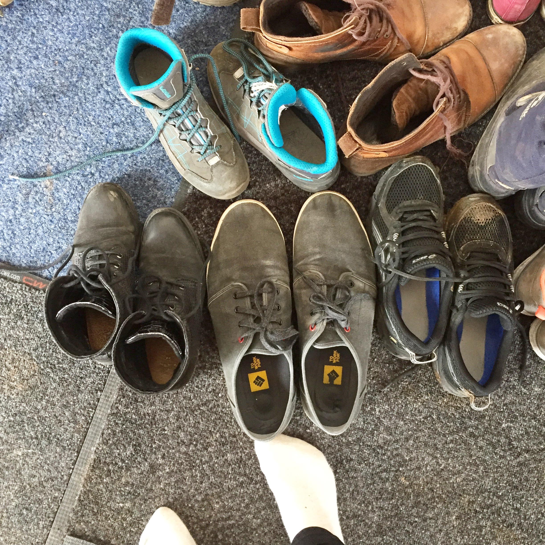 Schuhchaos