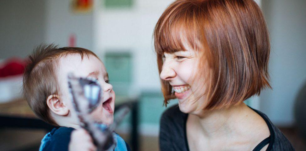 5 Dinge, die grandios sind am Muttersein. Erzählt in GIFs