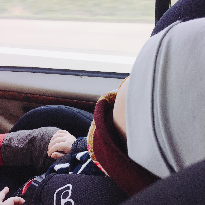 Autofahrt Baby