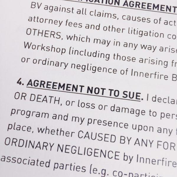 Workshop agreement