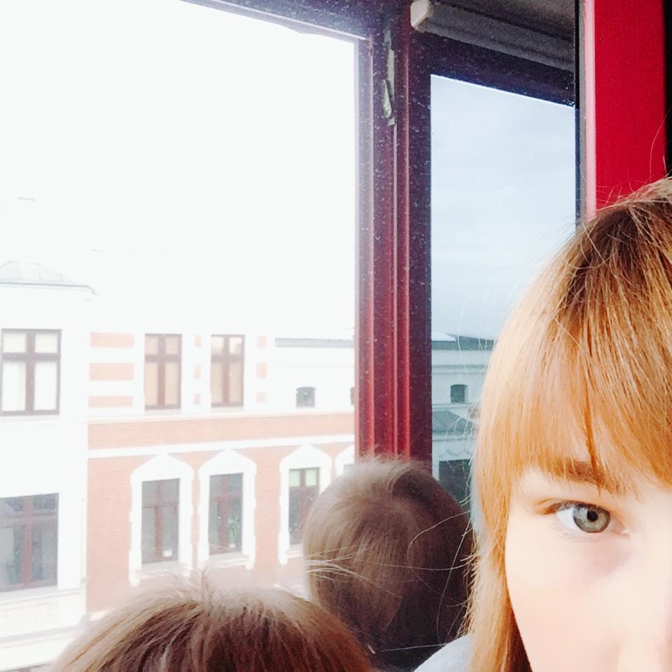 Aus dem Fenster schauen