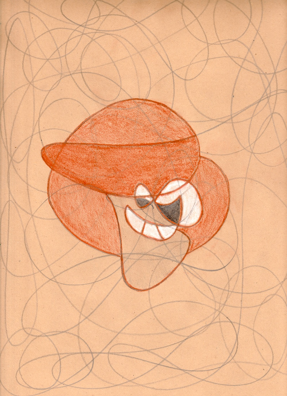 abstrakt zeichnen